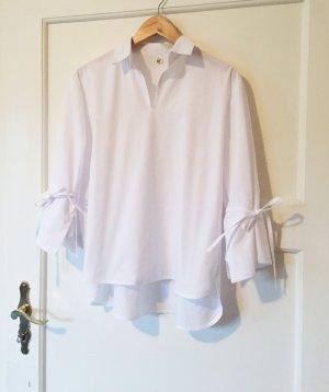 Minimalistische oversized Bluse aus sehr qualitat Stoff