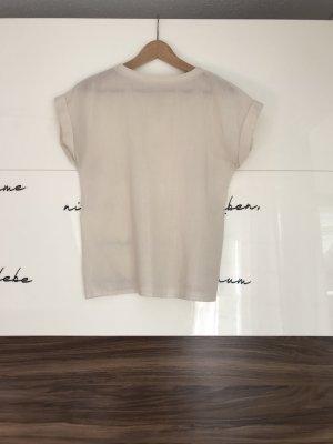 Minimalistisches kastiges Shirt aus Leinen