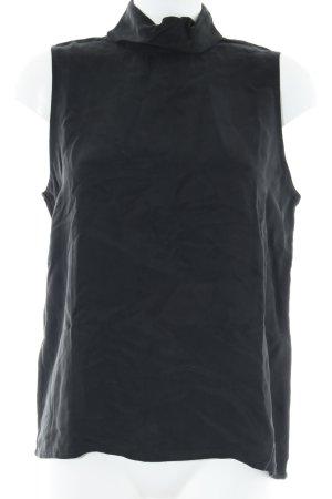 Minimum A-Linien Top schwarz Casual-Look