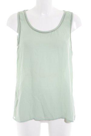 Minimum ärmellose Bluse mint klassischer Stil