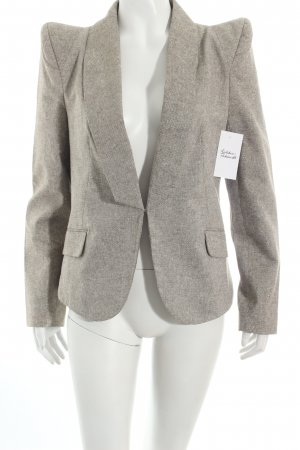 Minimum Blazer hellgrau-goldfarben Business-Look