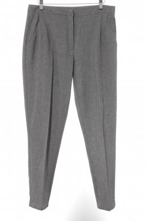 Minimum Bundfaltenhose grau Business-Look