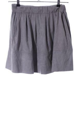 Minimum Flared Skirt light grey casual look