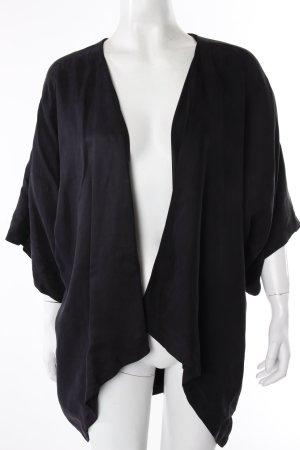 Minimum Kimono Jacke schwarz