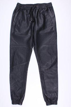 Minimum Kunstlederhose schwarz Größe 36