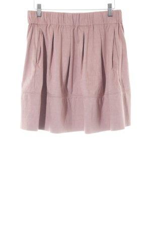 Minimum Jupe en cuir synthétique rose style décontracté