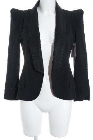 Minimum Kurz-Blazer schwarz Elegant