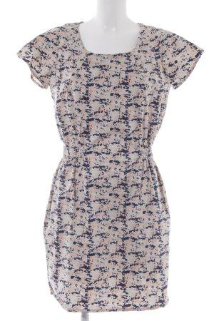 Minimum Kurzarmkleid abstraktes Muster 60ies-Stil