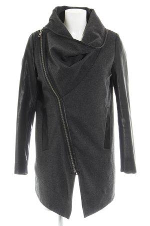 Minimum Veste longue gris foncé-noir style décontracté
