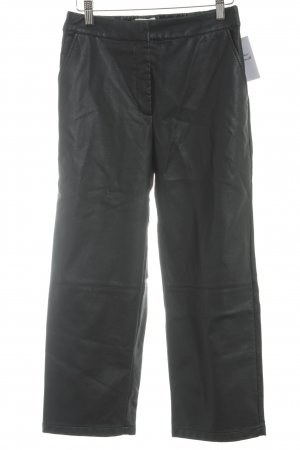 Minimum Lederhose schwarz Street-Fashion-Look