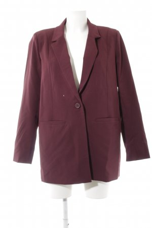 Minimum Long-Blazer purpur Elegant