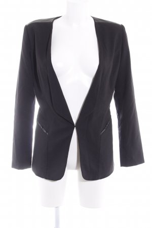 Minimum Long-Blazer schwarz Elegant