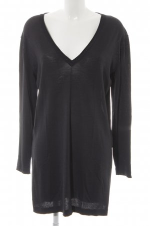Minimum Longshirt schwarz Rockabilly-Look