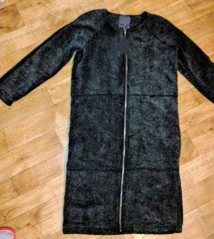 Minimum Cappotto mezza stagione nero-antracite Acrilico