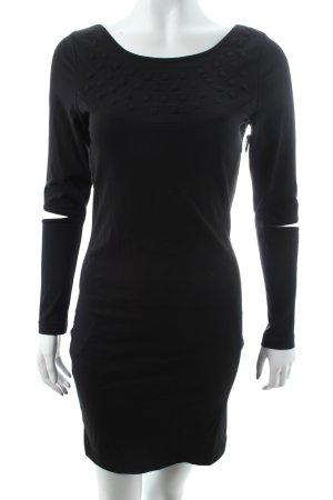 Minimum Minikleid schwarz schlichter Stil