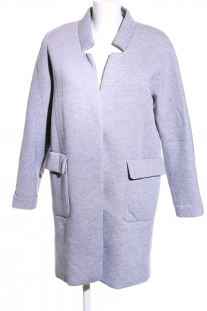Minimum Oversized Mantel blau meliert Casual-Look
