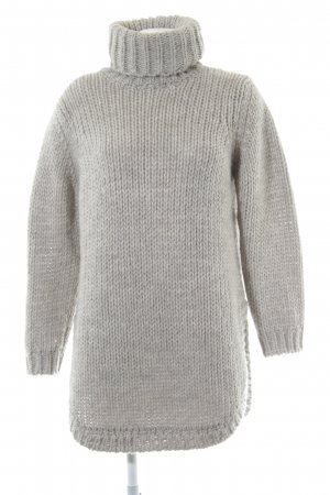 Minimum Sweater Dress light grey simple style