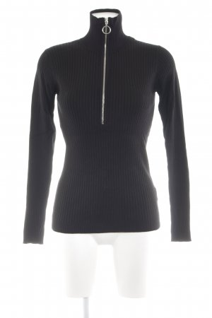 Minimum Rollkragenpullover schwarz Casual-Look