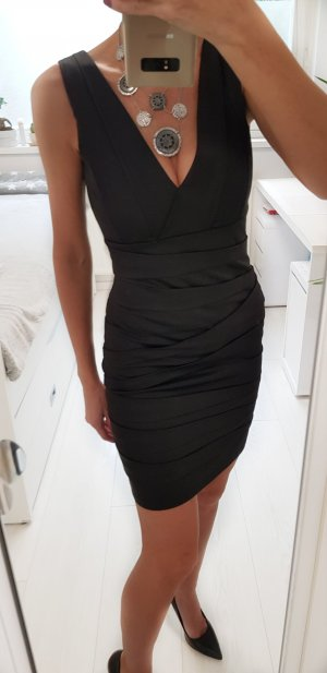 Minimum schwarzes Kleid XS