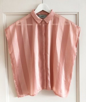 Minimum Shirt, Streifen, Rosa, Gr. 36