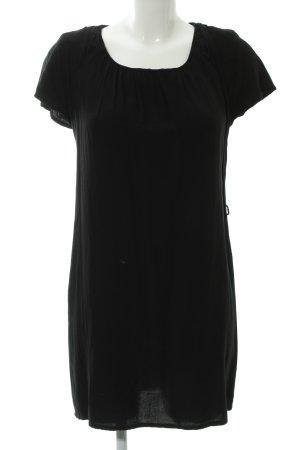 Minimum Shirtkleid schwarz Casual-Look