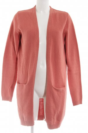 Minimum Strick Cardigan hellorange Business-Look