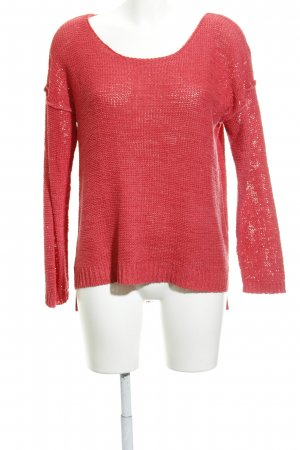 Minimum Strickpullover magenta Casual-Look