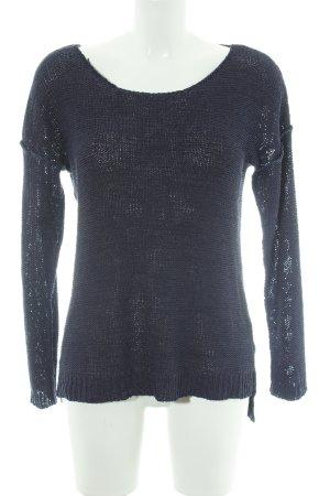 Minimum Strickshirt dunkelblau Casual-Look