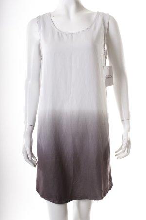 Minimum Trägerkleid hellgrau-grau Farbverlauf schlichter Stil