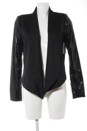 Minimum Tweedblazer schwarz Elegant