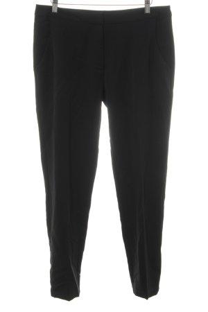 Minimum Pantalon en laine noir style classique