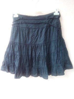 Minifalda negro Algodón