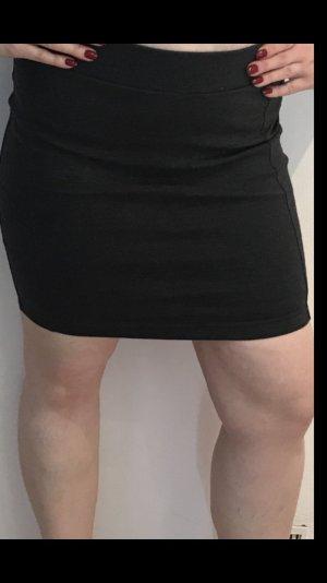 Mini-jupe gris anthracite