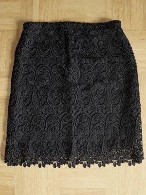 Kanten rok zwart Synthetische vezel