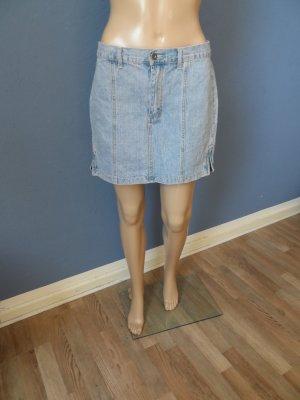 Minirock aus Jeans mit großen Potaschen