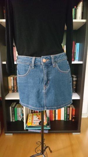 Minirock aus Jeans mit Taschen