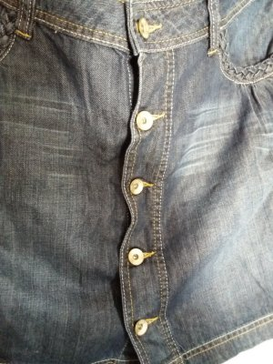 Minirock aus Jeansstoff