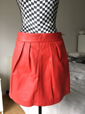 Mango Leather Skirt multicolored