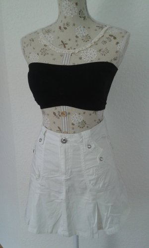 High Waist Skirt white