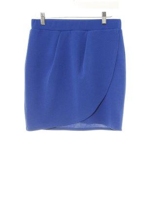 Minirock blau Street-Fashion-Look