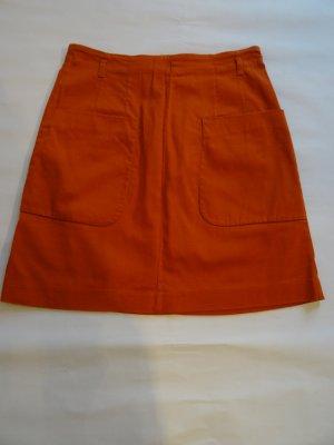H&M Jupe taille haute multicolore coton