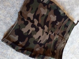 Minirock camouflage
