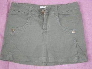 Minirock Denimstyle khaki 97 % Baumwolle Tally XXS 32