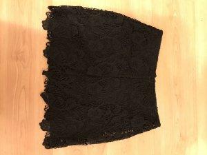 H&M Jupe en dentelle noir