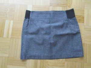 Minirock, elegant, Grau, Gr. 42, Marke Camaieu