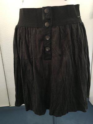 Garcia Flared Skirt anthracite mixture fibre