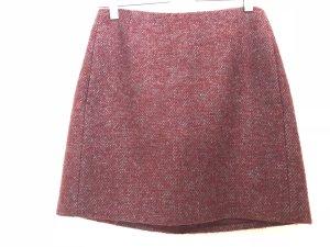 Acne Minifalda burdeos