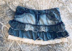 Minirock jeans Gr. 40