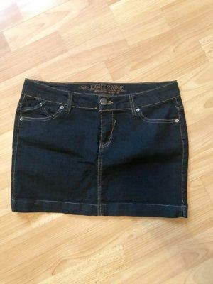 Minirock Jeans Gr. M