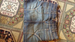 Minirock Jeans Hüftenrock